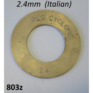 Spessore rasamento 2,4mm per 1a. marcia Lambretta S1 + S2 + S3 + TV3 + SX + DL