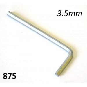 Chiave a brugola 3,5mm per morsetti fili cambio e frizione