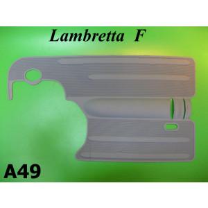 Tappetino in gomma grigio Lambretta F125