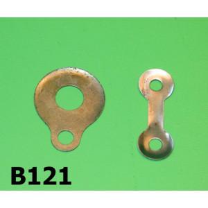 Kit ranelle di sicurezza dado frizione + tendicatena per tutti i modelli Lambretta S1 + S2 + S3 + DL