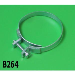Fascetta superiore/inferiore per soffietto filtro aria Lambretta S1 S2 TV2 S3 TV3 Special SX DL