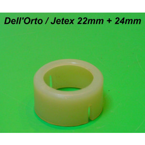 Boccola in teflon per carburatore SH2/22mm + Jetex 22mm / 24mm