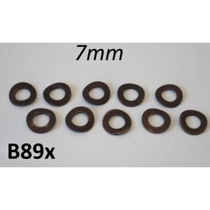 Kit rondelle ondulate M7 per motore / carrozzeria