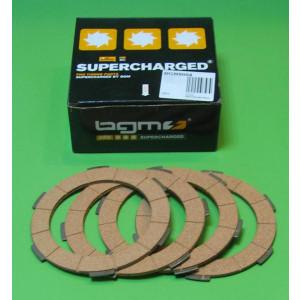 Set 4 dischi frizione BGM per Lambretta S1 + S2 + S3 + GP DL + Serveta