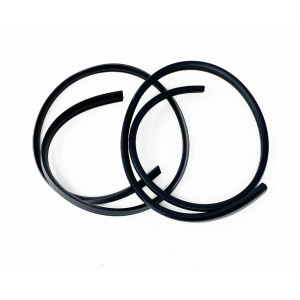 Profilo nero scudo copriclacson Lambretta DL + Serveta