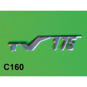 """Scritta """"175 TV"""""""