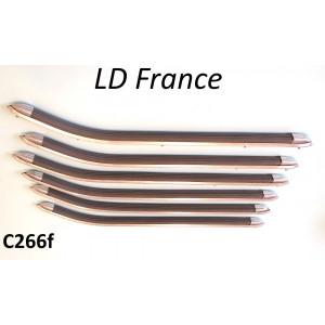 Kit listelli pedana Lambretta LD Francia
