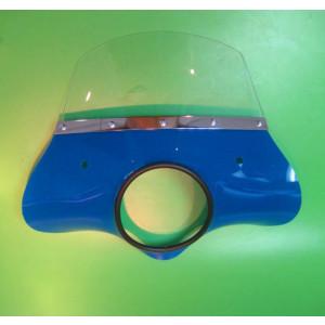 Cupolino blu modello 'Classico' per Lambretta LI S2 + S3