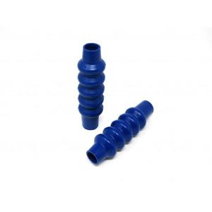 Soffietti in gomma DiscoDez Blu per ammortizzatori anteriori Lambretta S1+S2+S3+DL+J+Lui