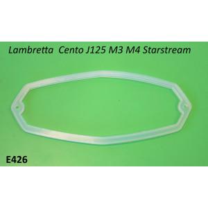 Guarnizione per vetro fanale posteriore per Lambretta Cento + J125 M3 + J125 Stellina M4