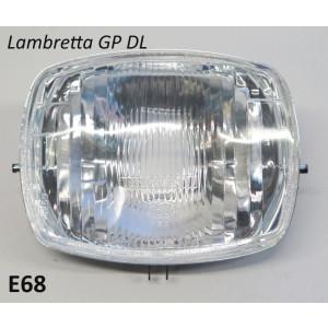 Fanale anteriore Lambretta GP DL