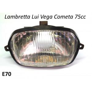 Fanale anteriore Lambretta Lui 75S/SL