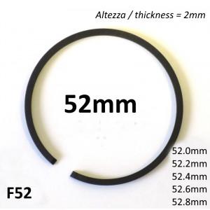 Fascia elastica (segmento) 52mm + maggiorazione (altezza 2.0mm) tipo originale di alta qualità