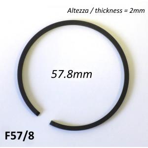 Fascia elastica (segmento) 57.8mm (altezza 2.0mm) tipo originale di alta qualità