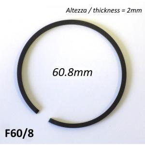 Fascia elastica (segmento) 60.8mm (altezza 2.0mm) tipo originale di alta qualità