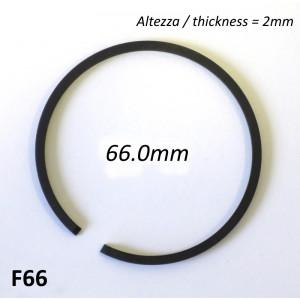 Fascia elastica (segmento) 66.0mm (altezza 2.0mm) tipo originale di alta qualità