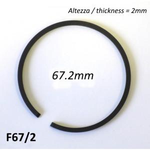 Fascia elastica (segmento) 67.2mm (altezza 2.0mm) tipo originale di alta qualità