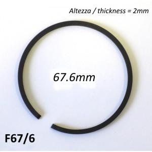 Fascia elastica (segmento) 67.6mm (altezza 2.0mm) tipo originale di alta qualità
