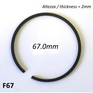 Fascia elastica (segmento) 67.0mm (altezza 2.0mm) tipo originale di alta qualità