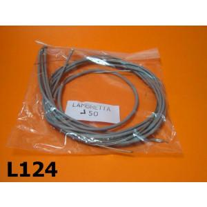 Set guaine e cavi per Lambretta J 50-100-125
