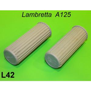 Manopole grigie Lambretta A125