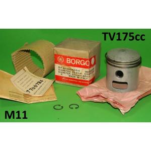 Pistone originale BORGO per Lambretta TV2 + TV3 175cc (scelta di maggiorazioni)