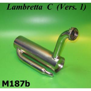 Marmitta nichelata Lambretta C 125cc V1