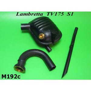Marmitta completa di terminale Lambretta TV1 175cc