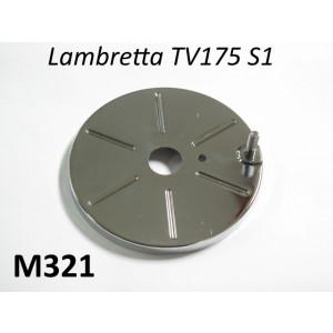 Coperchio cromato molla avviamento Lambretta TV1