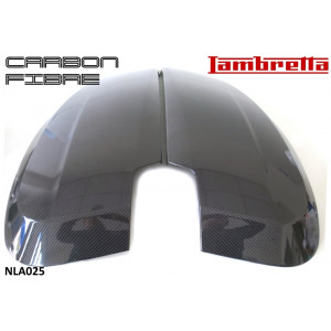 Coppia fiancate laterali in carbonio per Lambretta V-Special 50 - 125 - 200