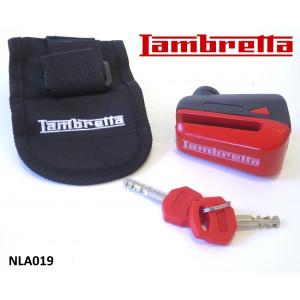 Antifurto bloccadisco per Lambretta V-Special 50 - 125 - 200