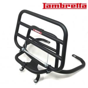 Portapacchi posteriore colore nero (modello verticale) per Lambretta V-Special