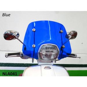 Parabrezza Sportivo RLC Blu per Lambretta V-Special