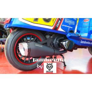 Marmitta sportiva Remus per Lambretta V-Special 125