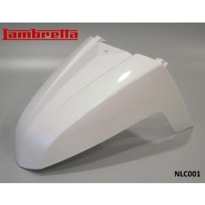Parafango anteriore modello Fisso bianco perlato per Lambretta V-Special 50 - 125 - 200