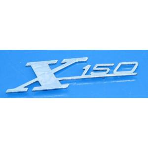 Scritta 'X150' per scudo