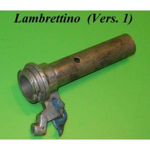 Manicotto cambio al manubrio ORIGINALE NOS Lambrettino Vers.1
