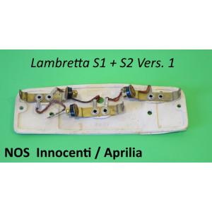 Portalampadine posteriore in gomma ORIGINALE NOS Innocenti / Aprilia per Lambretta S1 + S2