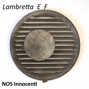Griglia ORIGINALE NOS Innocenti per filtro carburatore Dell'Orto per Lambretta E + F