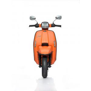 Paraurti anteriore nero opaco per Nuova Lambretta MODELLO FLEX (MODELLI CON PAFANGO MOBILE)