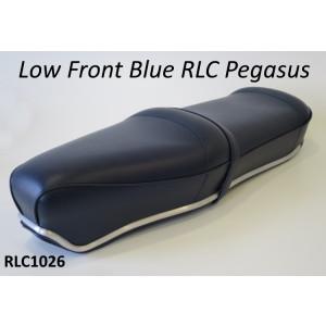 Sella RLC Pegasus Flatbase Blu Scuro Versione BASSA, per Lambretta S1 + S2 + S3 + DL