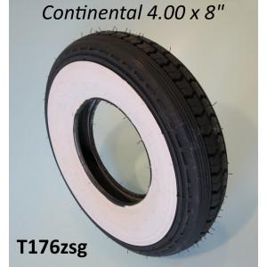 """Pneumatico Continental """"fascia bianca"""" 4.00 x 8"""""""