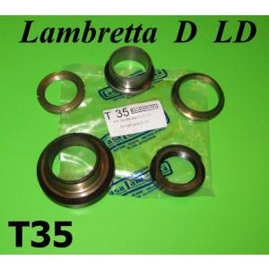 Kit calotte sterzo Lambretta D + LD