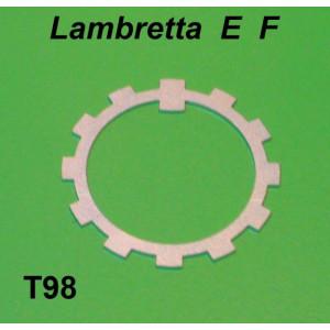 Rosetta di sicurezza destra Lambretta E + F