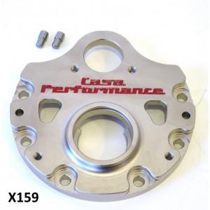 Flangia cambio rinforzata Casa Performance X159 per Lambretta S1 + S2 + TV2 + S3 + TV3 + Special + SX + DL + Serveta