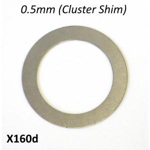 Spessore rasamento 0.5mm per sopra cluster del cambio 5 marce 'Cyclone 5 Speed'