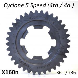 z36 ingranaggio 4a. marcia per cambio 5 marce 'Cyclone 5 Speed'