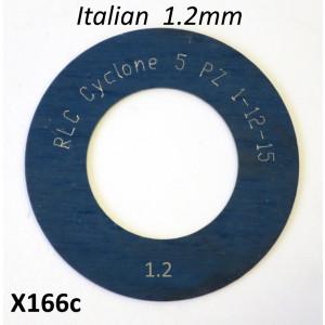 Spessore 1,2mm per 1° marcia del cambio Lambretta S1 + S2 + TV2 + S3 + TV3 + Special + SX + DL + Serveta