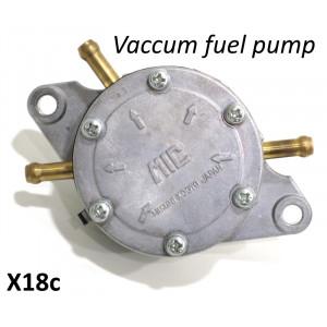 Pompa benzina a depressione Mikuni per carburatori maggiorati