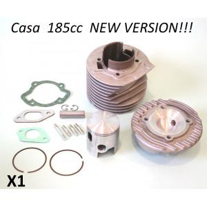 Kit cilindro Casa Lambretta Casa185 per Lambretta S1 + S2 + S3 + SX + DL (125/150/175cc)